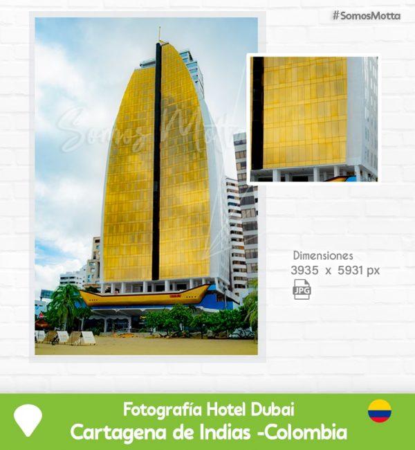 Fotografía Hotel Dubai Cartagena de Indias Colombia