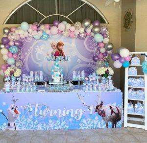 Ideas Decoración Fiesta de Frozen Aventura Congelada