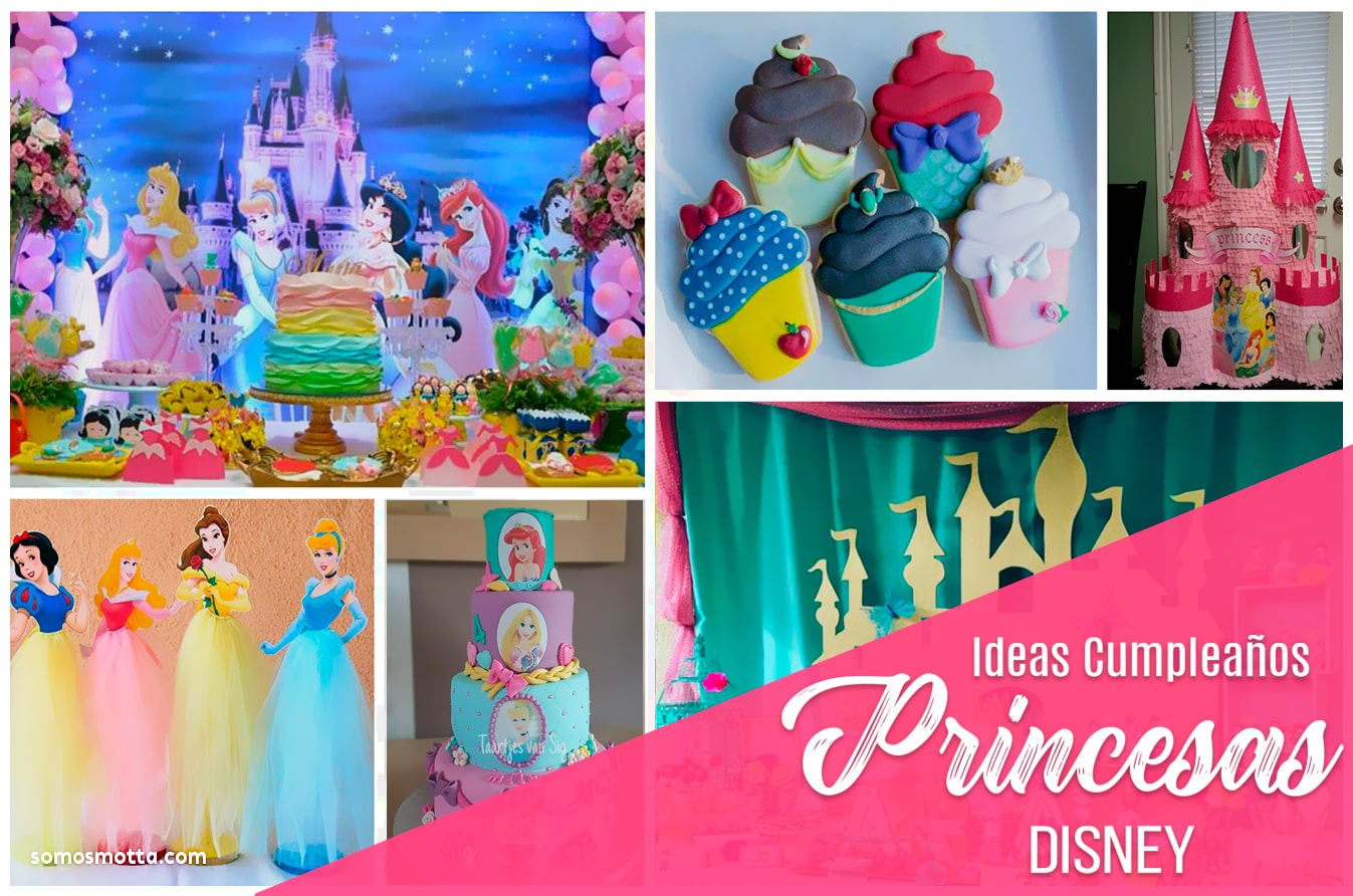 Ideas Decoración Fiesta de Princesas Disney