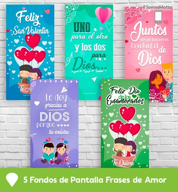 Fondos de Pantalla con frases para Enamorados Gratis
