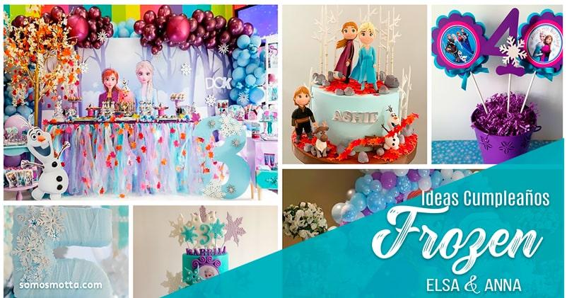 Mira! Ideas Decoración Fiesta de Frozen Aventura Congelada