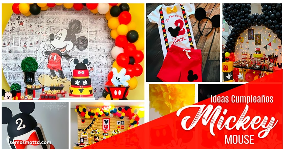 Ideas Decoración Fiesta de Mickey Mouse