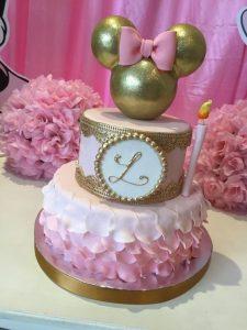 Bolo torta ponque cake Fiesta de Minnie