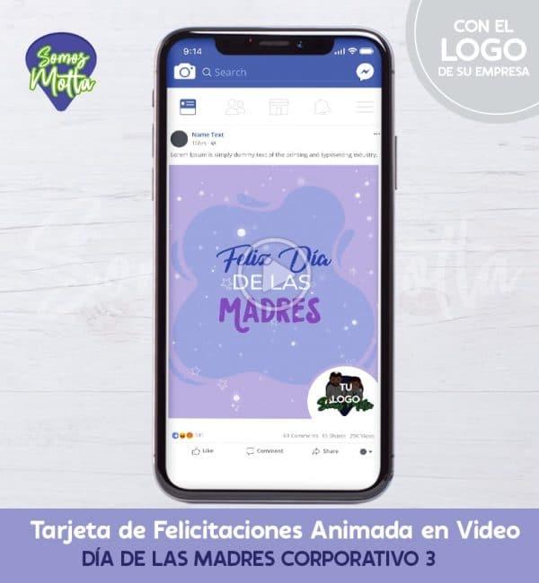MENSAJE DIGITAL DÍA DE LAS MADRES CORPORATIVO 3