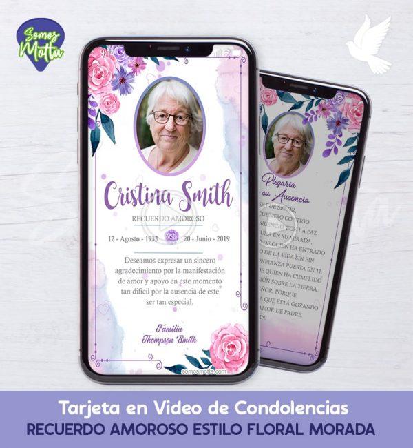 TARJETA DE DIFUNTOS PARA CONDOLENCIAS Y AGRADECIMIENTO 4