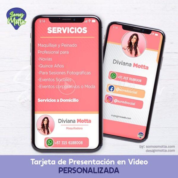 TARJETA DIGITAL DE PRESENTACIÓN PERSONALIZADA